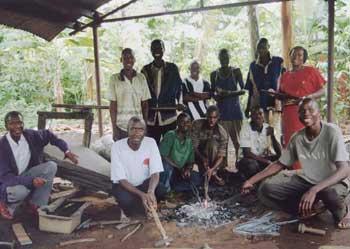Group of Tanzanian craftspeople Itahwa