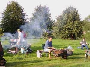 Transition Monmouth and Allotments Association annual barbecue