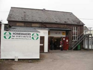 Homemakers depot and store, Abergavenny