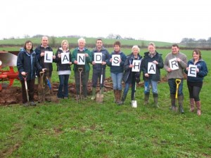Hanley Landshare involves a number of Transition Chepstow members in community food growing