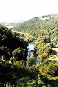 The Wye Valley at Redbrook